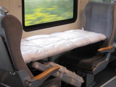 Bahnreise mit Langformat